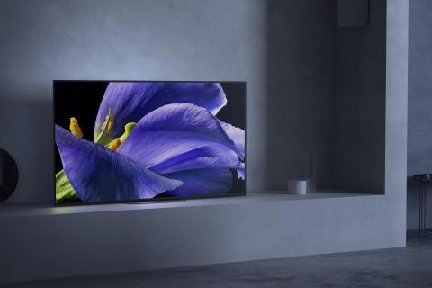 Sonys flaggskipsmodell AG9 BRAVIA OLED 4K HDR-TV kommer i salg i mai