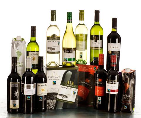 Fokus på Fairtrade-märkt vin under det goda köket