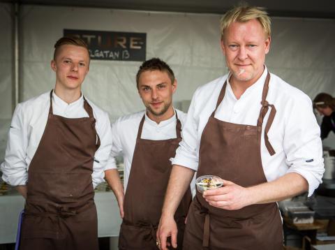Restaurang Sture - vinnare av Skånes Matfestivals Gastronomiska Pris