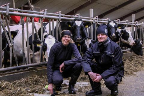 För Maria och Niklas Persson, ekobönder vid Karlsro Lantbruk AB, är hållbarhet framtiden.