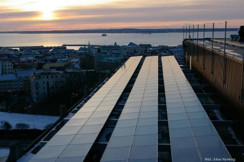 """""""Solkarta"""" ska identifiera tak lämpliga för solceller"""