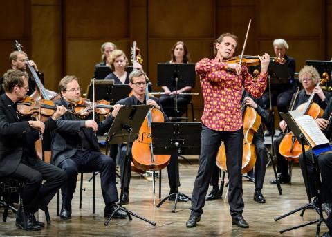 Nordiska Kammarorkestern och Gilles Apap på Stockholms Slott
