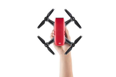 DJI Spark Lava Red - Handheld