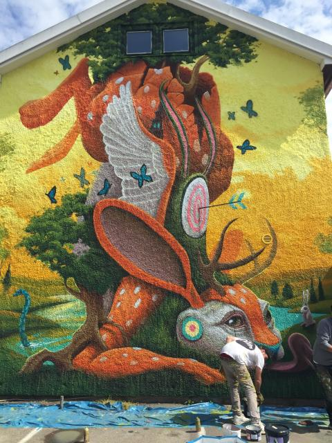 Konstens vecka firas i Kungsbacka