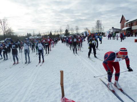 Trysil Skimaraton for 19. gang