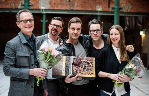 Skandionkliniken mottar PLÅT-prisen 2015 - LINK arkitektur