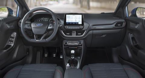 2019 Ford Puma ST-Line Innenraum