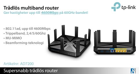 TP-Links nya supersnabba router imponerar!