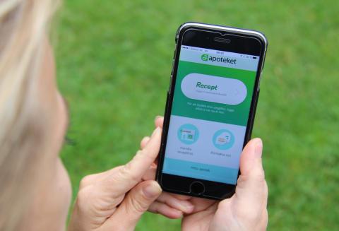 Nu kan du ha Apoteket i fickan med appen Mitt Apotek