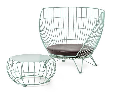 Small Basket och Basket bord, design Ola Gillgren