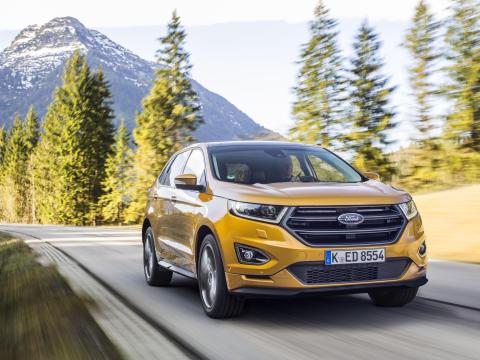 Täysin uusi Ford Edge tarjoaa luokkansa parasta tilaa ja ajodynamiikkaa, huipputason mukavuutta ja hienostuneisuutta
