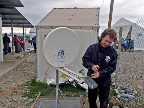Eutelsat verlängert Einsatz für Télécoms Sans Frontières