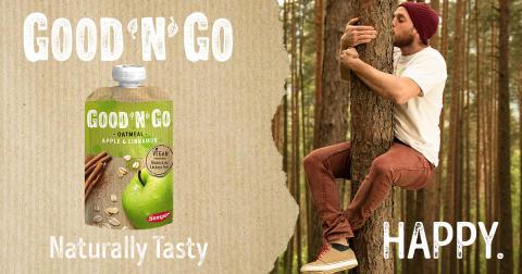 Good'n'Go - terveellisiä ja maistuvia välipaloja kaikille