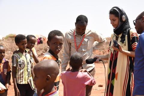 Klimatmigranter på flykt i torkans spår – Rädda Barnen lanserar ny podd