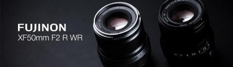 FUJINON XF50mm F2 R WR