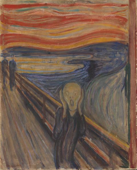 Livets dans. Edvard Munch: Skrik, 1893