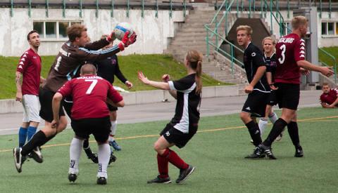 110 lag klara för fotbollsfest på Östermalms IP