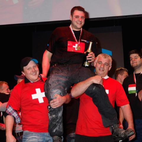 TYROLIT CUTTING PRO COMPETITION 2014 - EUROPEISK MÄSTARE KORAD