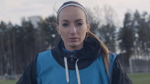 Kosovare Asllani frontar Visas största kampanj för damidrott