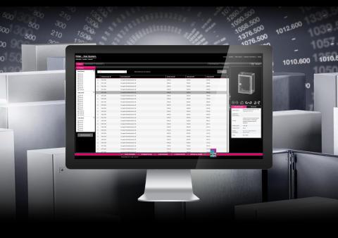 Smart on-line design av apparatskåp