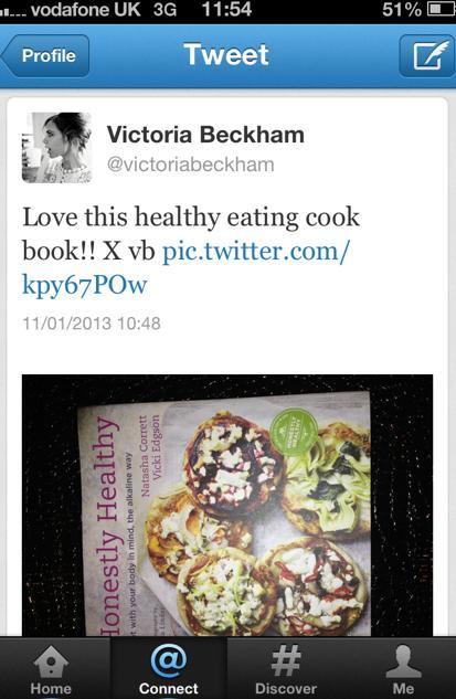 Tweet - Victoria Beckham
