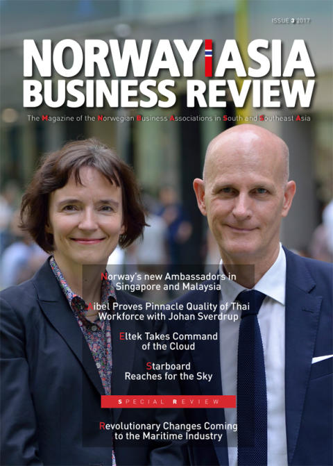The third issue of Norway-Asia Business Review in 2017 is released