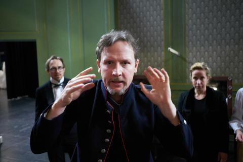 I huvudet på... Aksel Morisse, regissör och skådespelare