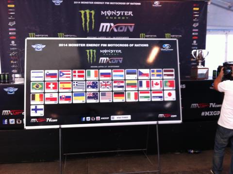Bra lottning i Lag-VM motocross