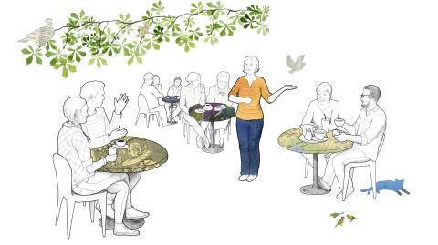 Nytt spännande vårprogram på Forskarcaféet