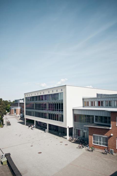 Högskolebyggnaden i Trollhättan