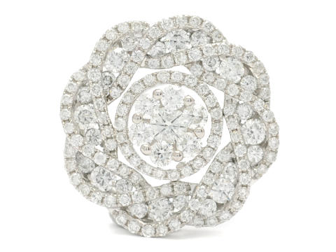 Klassiska 23/2, Nr. 104, HÄNGE, 18K vitguld, briljantslipade diamanter ca 1,39 ctv, ca TW-W/VS-SI