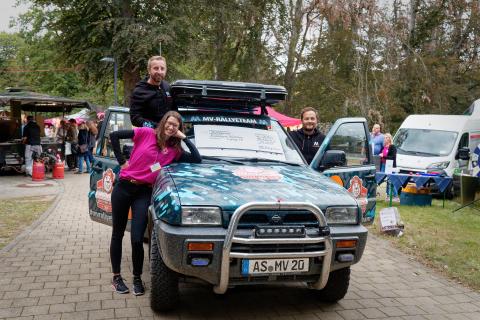 Außergewöhnlicher Spendenaufruf: MV Rallyeteam rockt den Balkan