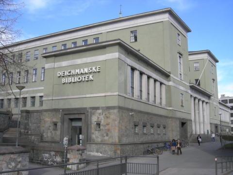 Åpent allmøte på Deichmanske bibliotek i anledning byrådets pressekonferanse