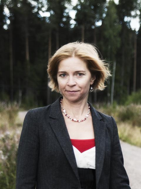 Karin Bodin talar på Ledarskapsdagarna i Tylösand