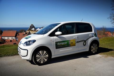 Europcar hyr ut elbilar på Gotland för tredje året i rad