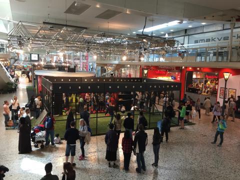 Adidas i Nordstan under Gothia Cup 2016