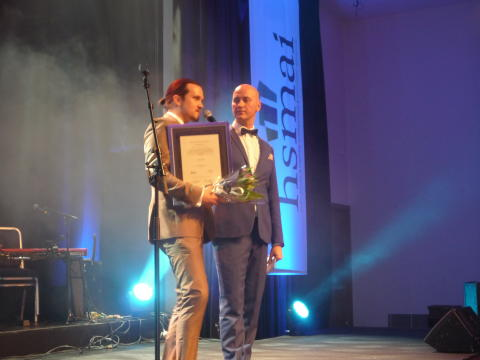 Espen Hammersvik kåret til «Årets Unge Hoteliér 2016»