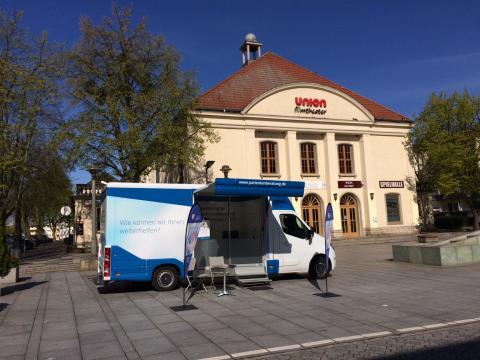 Beratungsmobil der Unabhängigen Patientenberatung kommt am 20. September nach Prenzlau.