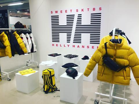 SWEET SKTBS presenterar ett exklusivt designsamarbete med Helly Hansen
