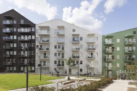 "Tre invigningar vid ""nya"" Nybergstorg"