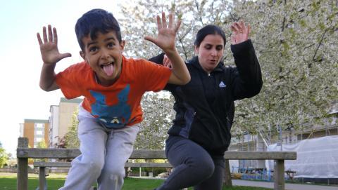Abdon Mills främjar arbete med barns hälsa