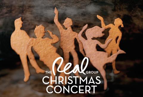 Lifeline Entertainment presenterar The Real Group Christmas Concert