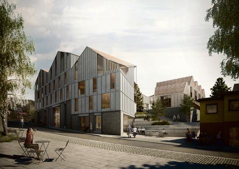 Drømmehagen i Drøbak: Bolig- og næringsprosjekt
