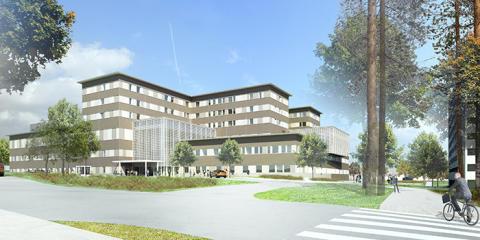Kainuun uusi sairaala on edennyt rakennusvaiheeseen