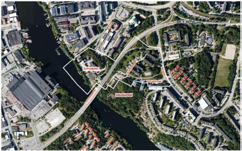 Samråd om utvecklingen av Solnaverket och bostäder i sydvästra Huvudsta