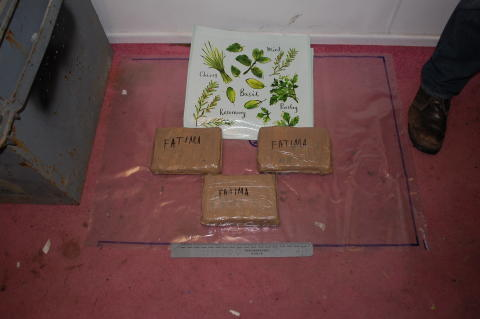 3 drugs seized from chest