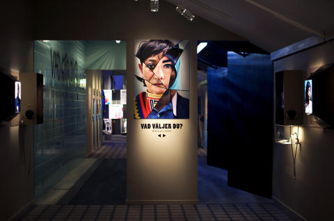 Vy i VI & DOM - en utställning om hatbrott