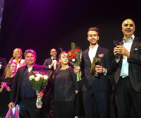 Alexander Graff blev Årets Idrottsman i Uppsala