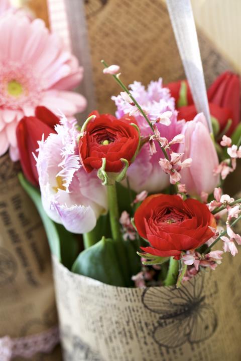 Vårbukett - Alla hjärtan dag