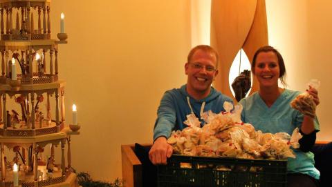In der Weihnachtsbäckerei: Plätzchen für Bärenherz